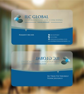 ILC Global Ltd Business Cards and Stationery  Draft # 321 by Deck86