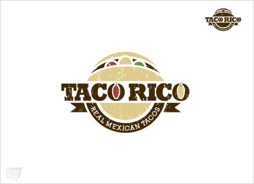 Taco Rico  A Logo, Monogram, or Icon  Draft # 226 by rezaray