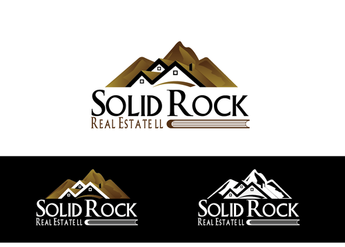 SOLID ROCK Real Estate llc A Logo, Monogram, or Icon  Draft # 95 by LogoXpert
