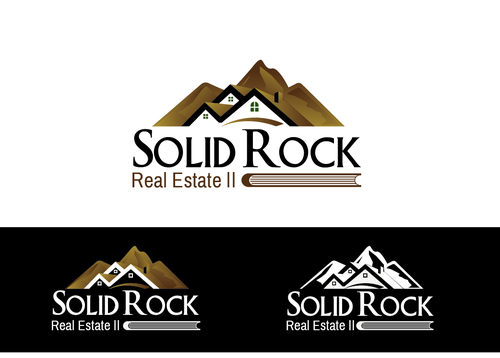 SOLID ROCK Real Estate llc A Logo, Monogram, or Icon  Draft # 97 by LogoXpert