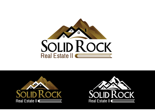 SOLID ROCK Real Estate llc A Logo, Monogram, or Icon  Draft # 98 by LogoXpert