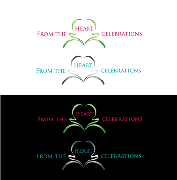From the heart celebrations A Logo, Monogram, or Icon  Draft # 23 by InventiveStylus