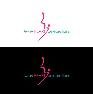 From the heart celebrations A Logo, Monogram, or Icon  Draft # 24 by InventiveStylus