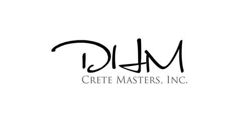 DHM Crete Masters, Inc. (not sure if it needs to be in design but that's the name of company A Logo, Monogram, or Icon  Draft # 1 by kingmaster