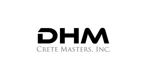 DHM Crete Masters, Inc. (not sure if it needs to be in design but that's the name of company A Logo, Monogram, or Icon  Draft # 2 by kingmaster