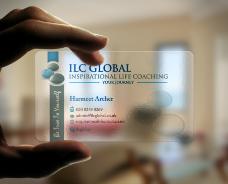 ILC Global Ltd Business Cards and Stationery Winning Design by einsanimation