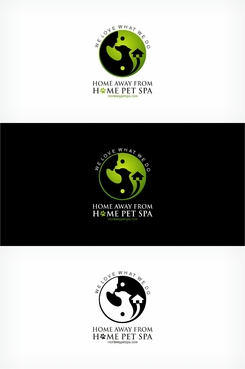 Home Away From Home Pet Spa /  montereypetspa.com A Logo, Monogram, or Icon  Draft # 85 by mahiiish