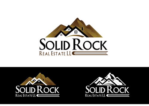 SOLID ROCK Real Estate llc A Logo, Monogram, or Icon  Draft # 105 by LogoXpert