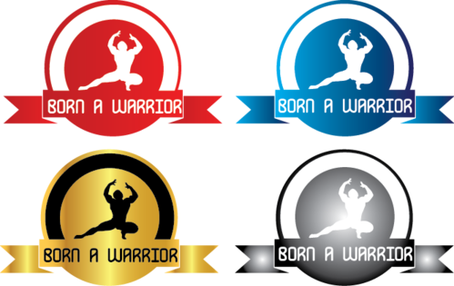 Born a Warrior A Logo, Monogram, or Icon  Draft # 28 by ragav