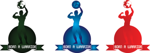 Born a Warrior A Logo, Monogram, or Icon  Draft # 30 by ragav