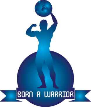Born a Warrior A Logo, Monogram, or Icon  Draft # 31 by ragav