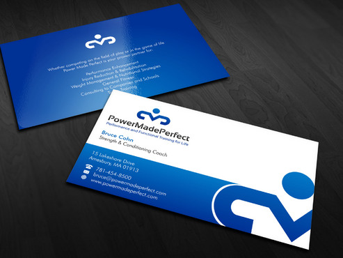 Performance and Functional Training for Life Business Cards and Stationery Winning Design by Xpert