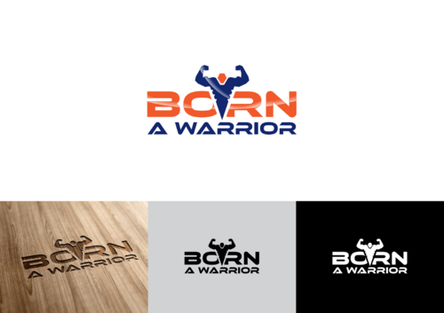 Born a Warrior A Logo, Monogram, or Icon  Draft # 34 by pedroferreira