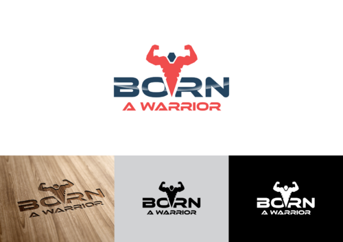 Born a Warrior A Logo, Monogram, or Icon  Draft # 35 by pedroferreira