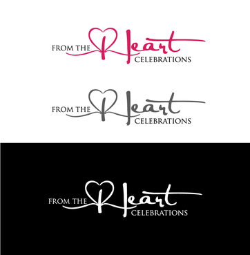 From the heart celebrations A Logo, Monogram, or Icon  Draft # 28 by InventiveStylus