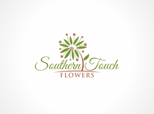 Southern Touch Flowers A Logo, Monogram, or Icon  Draft # 35 by dweedeku