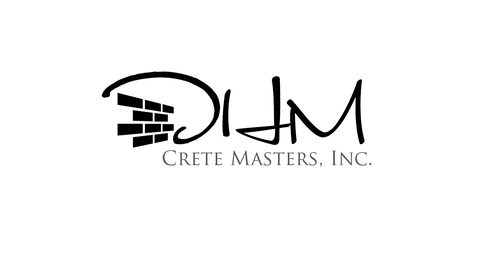 DHM Crete Masters, Inc. (not sure if it needs to be in design but that's the name of company A Logo, Monogram, or Icon  Draft # 12 by kingmaster
