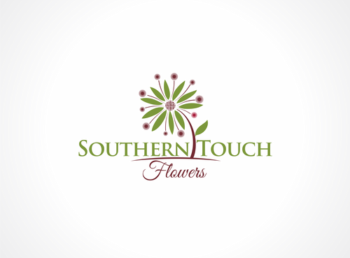 Southern Touch Flowers A Logo, Monogram, or Icon  Draft # 36 by dweedeku