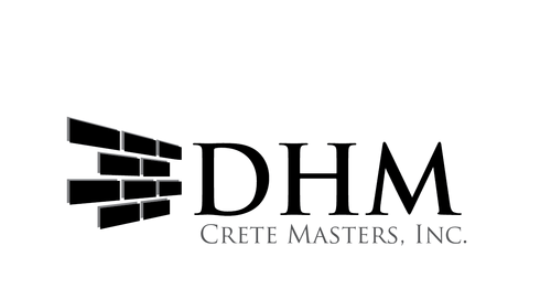 DHM Crete Masters, Inc. (not sure if it needs to be in design but that's the name of company A Logo, Monogram, or Icon  Draft # 13 by kingmaster