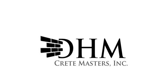 DHM Crete Masters, Inc. (not sure if it needs to be in design but that's the name of company A Logo, Monogram, or Icon  Draft # 14 by kingmaster