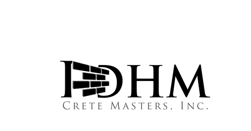DHM Crete Masters, Inc. (not sure if it needs to be in design but that's the name of company A Logo, Monogram, or Icon  Draft # 16 by kingmaster
