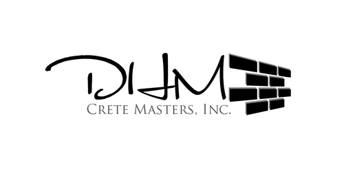 DHM Crete Masters, Inc. (not sure if it needs to be in design but that's the name of company A Logo, Monogram, or Icon  Draft # 17 by kingmaster