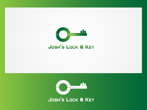 Josh's Lock & Key A Logo, Monogram, or Icon  Draft # 1 by HorizonH
