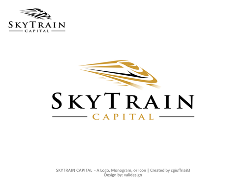 SKYTRAIN CAPITAL  A Logo, Monogram, or Icon  Draft # 72 by validesign