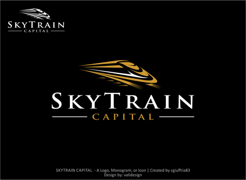 SKYTRAIN CAPITAL  A Logo, Monogram, or Icon  Draft # 73 by validesign
