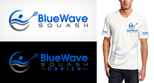 Possibilities: Darien High School, Blue Wave (mascot), Squash A Logo, Monogram, or Icon  Draft # 7 by Celestia