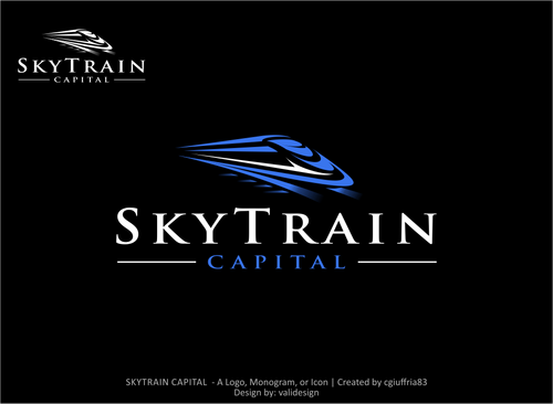 SKYTRAIN CAPITAL  Logo Winning Design by validesign