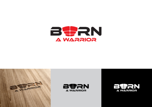 Born a Warrior A Logo, Monogram, or Icon  Draft # 39 by pedroferreira