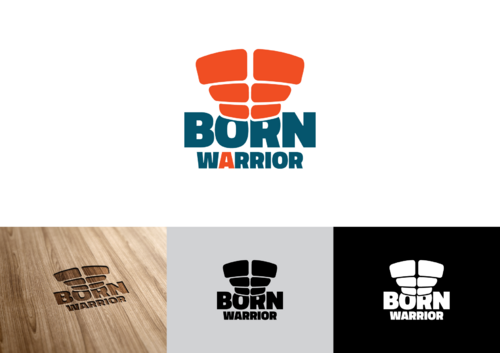 Born a Warrior A Logo, Monogram, or Icon  Draft # 40 by pedroferreira