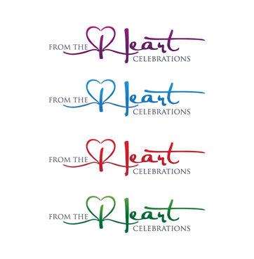 From the heart celebrations A Logo, Monogram, or Icon  Draft # 32 by InventiveStylus