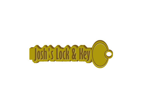 Josh's Lock & Key A Logo, Monogram, or Icon  Draft # 4 by Designfeedz