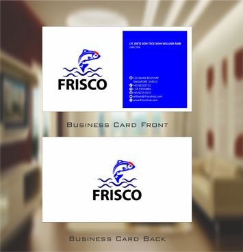 Frisco Consultant Hub Pte Ltd Business Cards and Stationery  Draft # 116 by Deck86