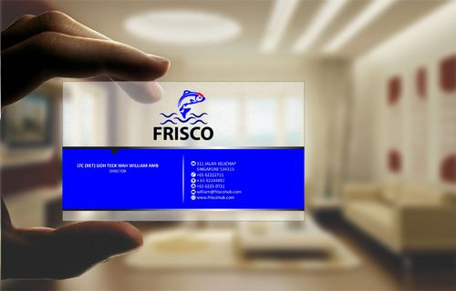 Frisco Consultant Hub Pte Ltd Business Cards and Stationery  Draft # 122 by Deck86