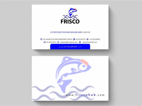 Frisco Consultant Hub Pte Ltd Business Cards and Stationery  Draft # 123 by Deck86
