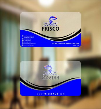 Frisco Consultant Hub Pte Ltd Business Cards and Stationery  Draft # 124 by Deck86