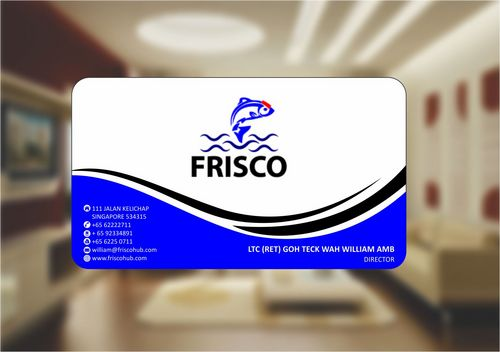 Frisco Consultant Hub Pte Ltd Business Cards and Stationery  Draft # 125 by Deck86
