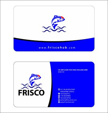 Frisco Consultant Hub Pte Ltd Business Cards and Stationery  Draft # 126 by Deck86