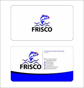 Frisco Consultant Hub Pte Ltd Business Cards and Stationery  Draft # 127 by Deck86