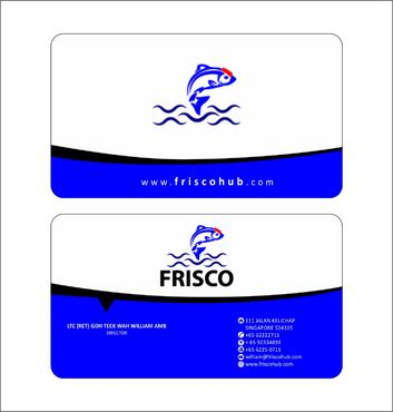 Frisco Consultant Hub Pte Ltd Business Cards and Stationery  Draft # 128 by Deck86