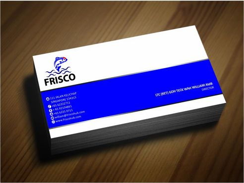 Frisco Consultant Hub Pte Ltd Business Cards and Stationery  Draft # 129 by Deck86
