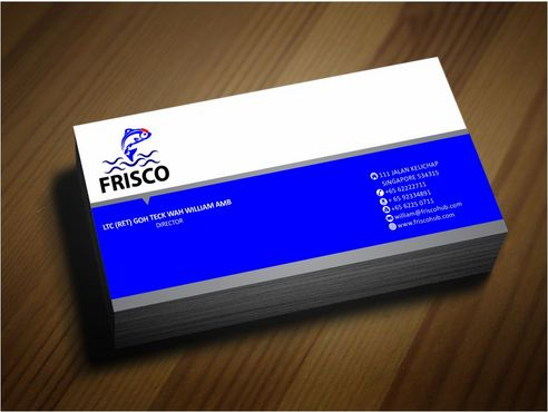 Frisco Consultant Hub Pte Ltd Business Cards and Stationery  Draft # 130 by Deck86