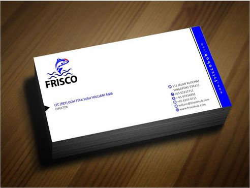 Frisco Consultant Hub Pte Ltd Business Cards and Stationery  Draft # 131 by Deck86