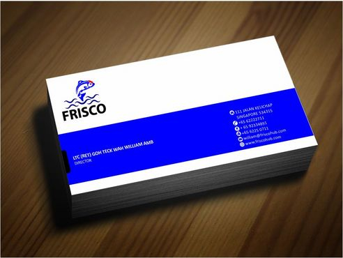 Frisco Consultant Hub Pte Ltd Business Cards and Stationery  Draft # 132 by Deck86