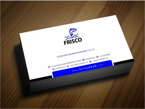 Frisco Consultant Hub Pte Ltd Business Cards and Stationery  Draft # 133 by Deck86