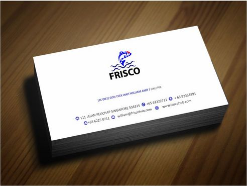 Frisco Consultant Hub Pte Ltd Business Cards and Stationery  Draft # 134 by Deck86