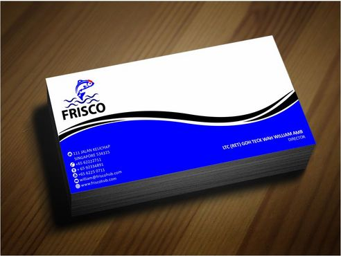Frisco Consultant Hub Pte Ltd Business Cards and Stationery  Draft # 147 by Deck86